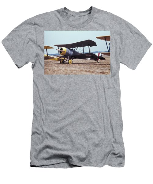 Men's T-Shirt (Athletic Fit) featuring the photograph Bi-wing-4 by Donald Paczynski