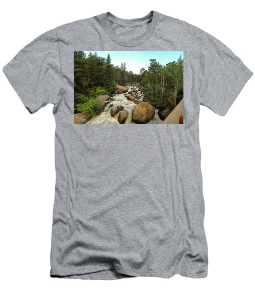 Big Boulder Men's T-Shirt (Athletic Fit)