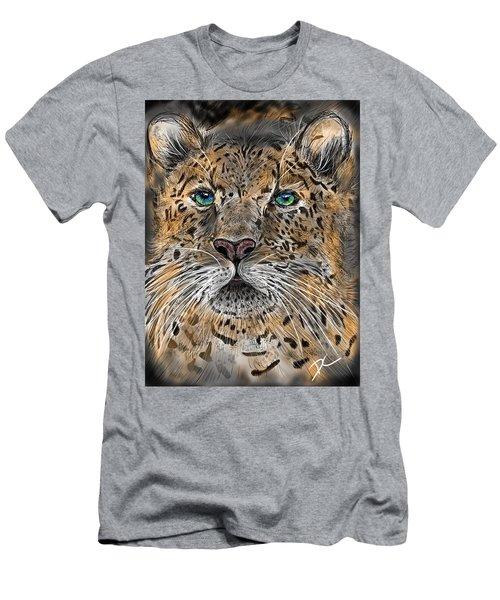Big Cat Men's T-Shirt (Athletic Fit)