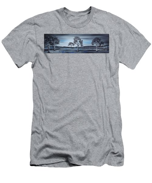 Big Country Men's T-Shirt (Slim Fit) by Kenneth Clarke
