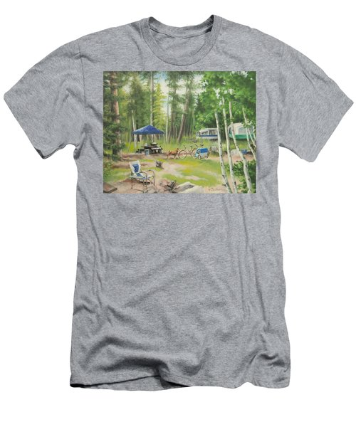 Big Lake 2015 Men's T-Shirt (Athletic Fit)