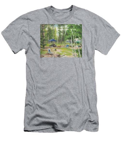 Big Lake 2015 Men's T-Shirt (Athletic Fit)
