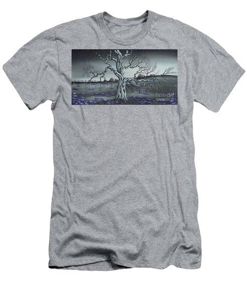 Big Old Tree Men's T-Shirt (Slim Fit) by Kenneth Clarke