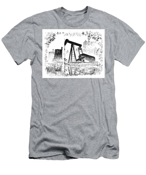 Big Thicket Oilfield Men's T-Shirt (Athletic Fit)