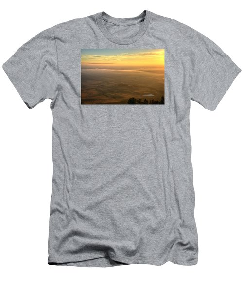 Bighorn Sunrise Men's T-Shirt (Slim Fit) by Fiskr Larsen