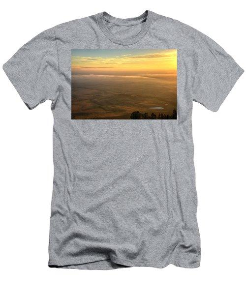 Bighorn Sunrise Men's T-Shirt (Athletic Fit)