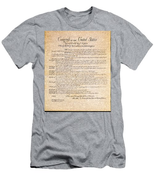 Bill Of Rights Men's T-Shirt (Athletic Fit)