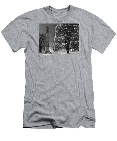 Billerica Common 004 Men's T-Shirt (Athletic Fit)