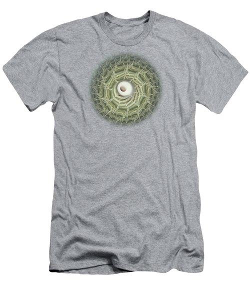 Men's T-Shirt (Slim Fit) featuring the digital art Biohazard by Anastasiya Malakhova