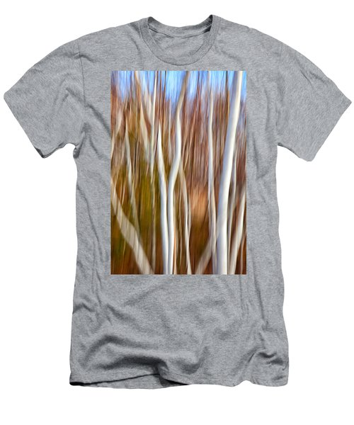 Birch Abstract No. 5 Men's T-Shirt (Athletic Fit)