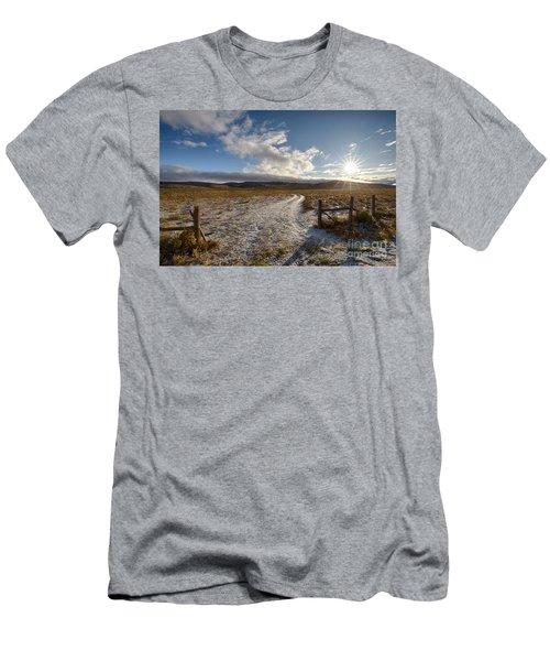 Birch Creek Valley Sun Men's T-Shirt (Athletic Fit)