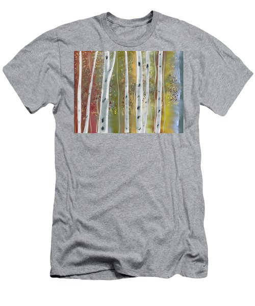 Birch Forest Men's T-Shirt (Athletic Fit)