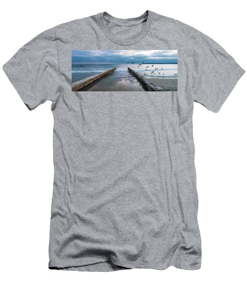 Bird Flight Men's T-Shirt (Athletic Fit)