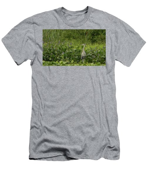 Bird Waiting Men's T-Shirt (Athletic Fit)