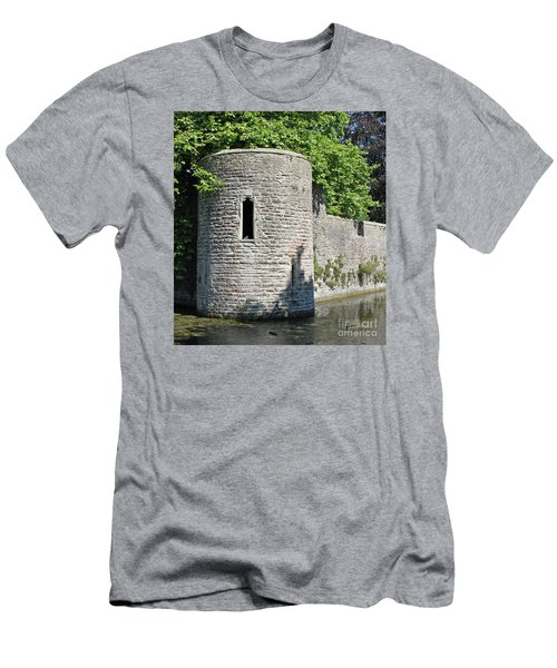 Birds Eye View Men's T-Shirt (Slim Fit) by Linda Prewer