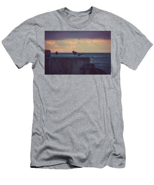 Birds Men's T-Shirt (Slim Fit) by Scott Meyer