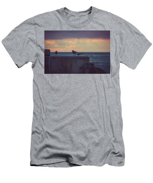 Birds Men's T-Shirt (Athletic Fit)