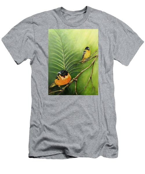 On The Lookout, Birds  Men's T-Shirt (Athletic Fit)