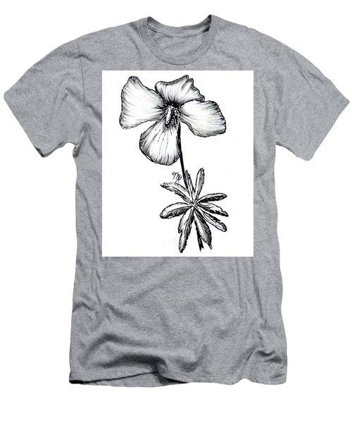 Birdsfoot Violet Men's T-Shirt (Athletic Fit)