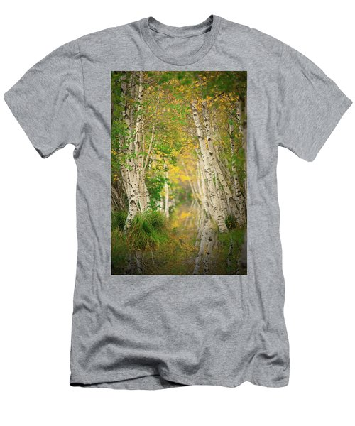 Men's T-Shirt (Slim Fit) featuring the photograph Birtch Row  by Emmanuel Panagiotakis
