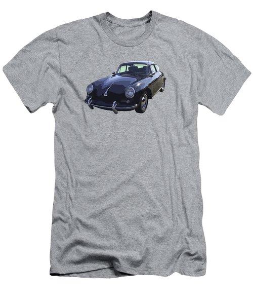 Black 1962 Porsche 356 E Sportscar  Men's T-Shirt (Slim Fit) by Keith Webber Jr