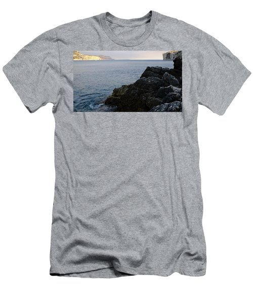 Black And Gold Men's T-Shirt (Athletic Fit)