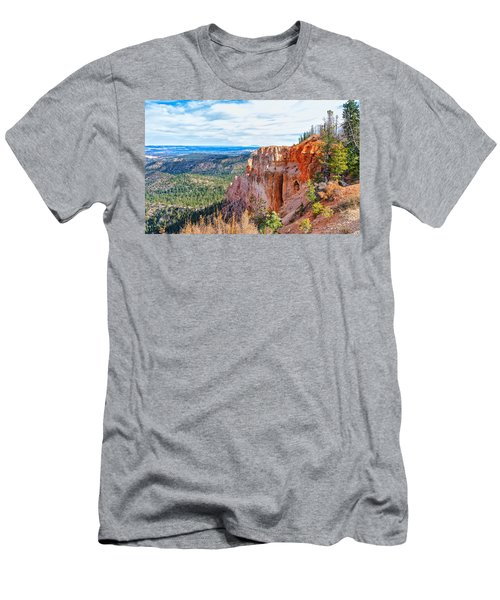 Men's T-Shirt (Athletic Fit) featuring the photograph Black Birch Canyon by John M Bailey