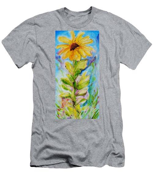 Black Eyed Susan Men's T-Shirt (Slim Fit) by Theresa Marie Johnson