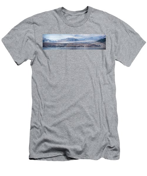 Black Glacier Men's T-Shirt (Athletic Fit)