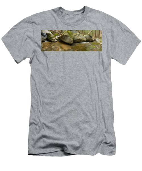 Black Mountain Pano Men's T-Shirt (Athletic Fit)