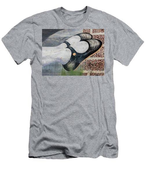 Black Shoes Men's T-Shirt (Athletic Fit)