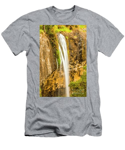 Blackwood Forest Waterfall Men's T-Shirt (Athletic Fit)