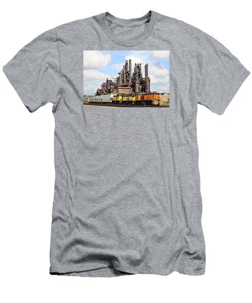 Blast Furnaces Of South Bethlehem Men's T-Shirt (Athletic Fit)