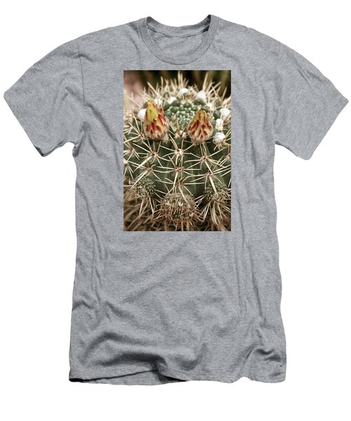 Blooming Cactus1 Men's T-Shirt (Athletic Fit)