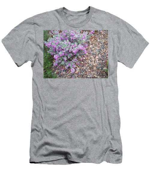 Men's T-Shirt (Slim Fit) featuring the painting Blooms by Mordecai Colodner