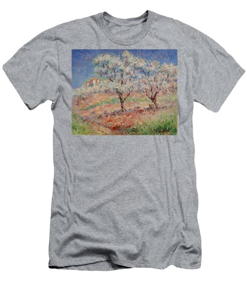 Blossom Trees  Men's T-Shirt (Athletic Fit)