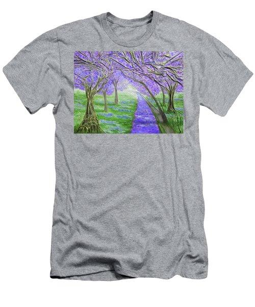 Blossoms Men's T-Shirt (Slim Fit) by Angela Stout