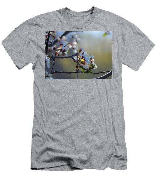 Blossoms Men's T-Shirt (Slim Fit) by Betty-Anne McDonald