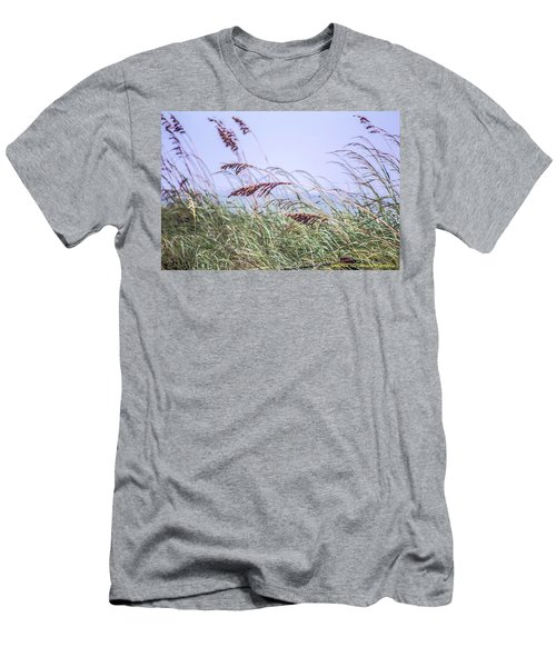 Blowing In The Wind Men's T-Shirt (Slim Fit) by Nance Larson