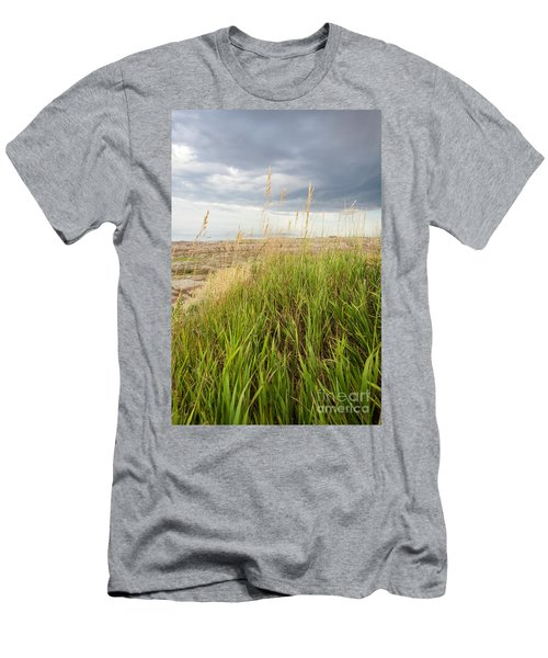 Blown By The Wind Men's T-Shirt (Athletic Fit)