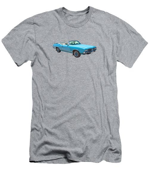 294585fcb Blue 1971 Oldsmobile Cutlass Supreme Convertible Men's T-Shirt (Athletic  Fit)