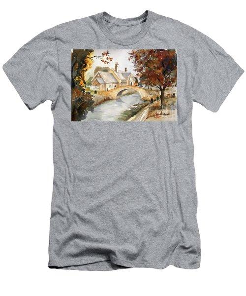 Blue Anchor Tavern Men's T-Shirt (Athletic Fit)