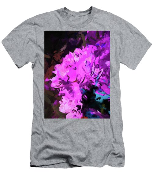 Blue Behind Pink Men's T-Shirt (Athletic Fit)