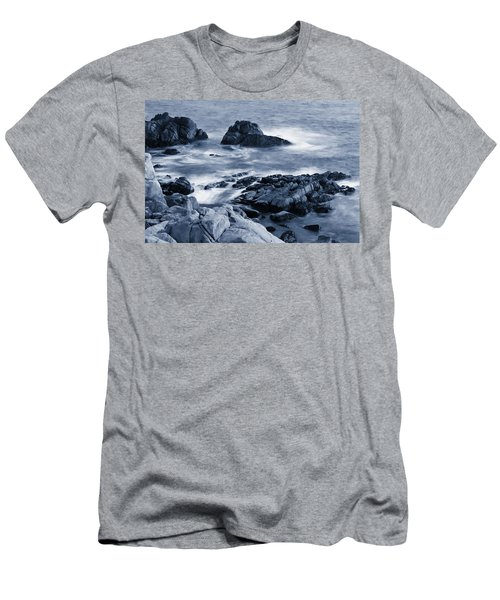 Blue Carmel Men's T-Shirt (Athletic Fit)