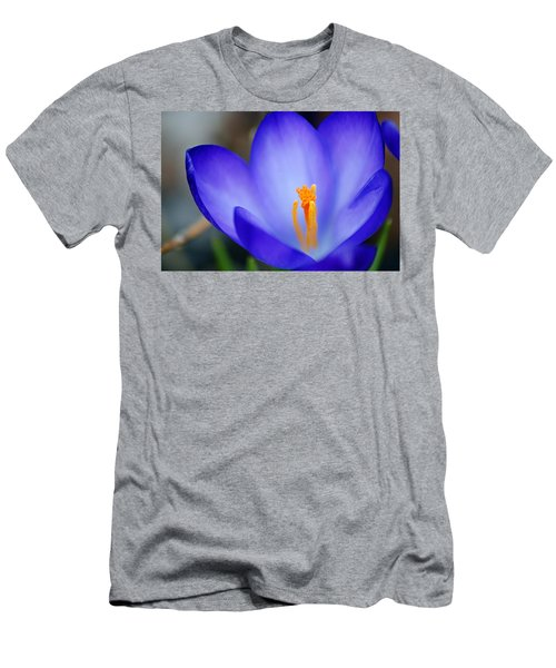 Blue Crocus Men's T-Shirt (Athletic Fit)