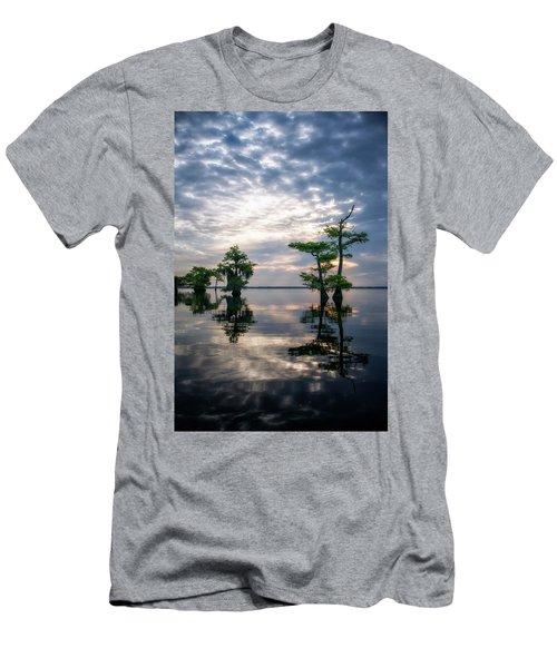 Blue Cypress Sunrise #1 Men's T-Shirt (Athletic Fit)