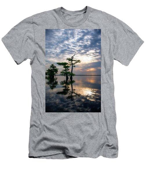 Blue Cypress Sunrise #2 Men's T-Shirt (Athletic Fit)