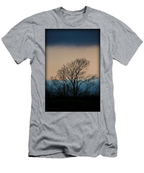 Men's T-Shirt (Slim Fit) featuring the photograph Blue Dusk by Chris Berry