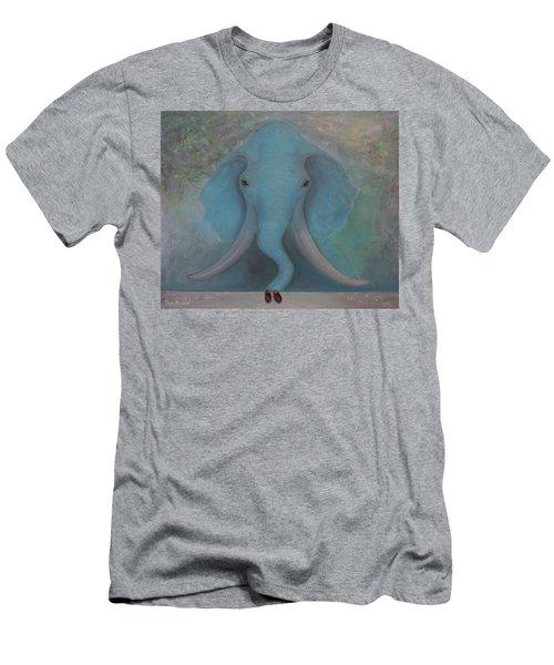 Blue Elephant Men's T-Shirt (Athletic Fit)