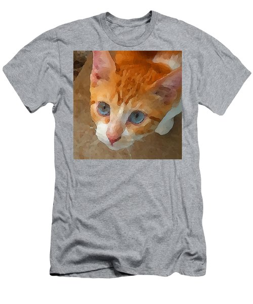 Blue Eyed Punk  Men's T-Shirt (Athletic Fit)